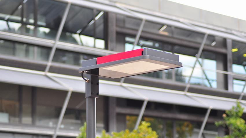 Barcelona farola led diseño industrial
