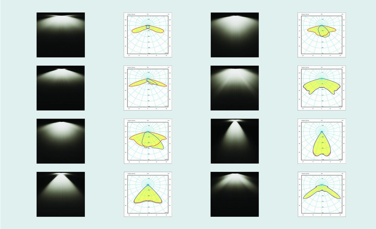 IESNA photometries street led light